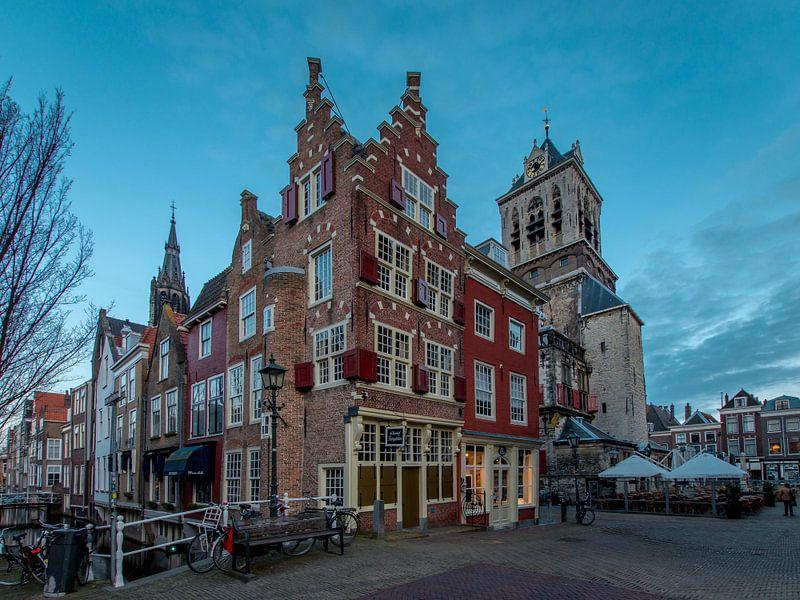Voldersgracht Delft van Henri van Avezaath