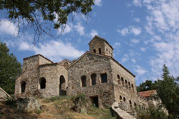 Het klooster van Nekresi in Georgië van
