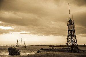 """""""Vuurtoreneiland"""" nabij Amsterdam ('Oude' versie)"""