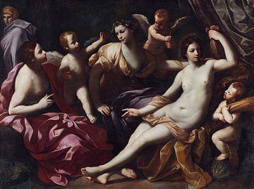 Die vier Jahreszeiten, als vier Frauen - Guido Reni, 1620 von Atelier Liesjes