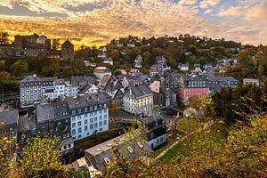 Zonsondergang in Monschau
