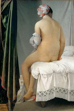 Jean-Auguste-Dominique Ingres - La Baigneuse Valpinçon sur