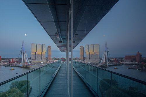 rotterdam reflectie von Michael van Dam