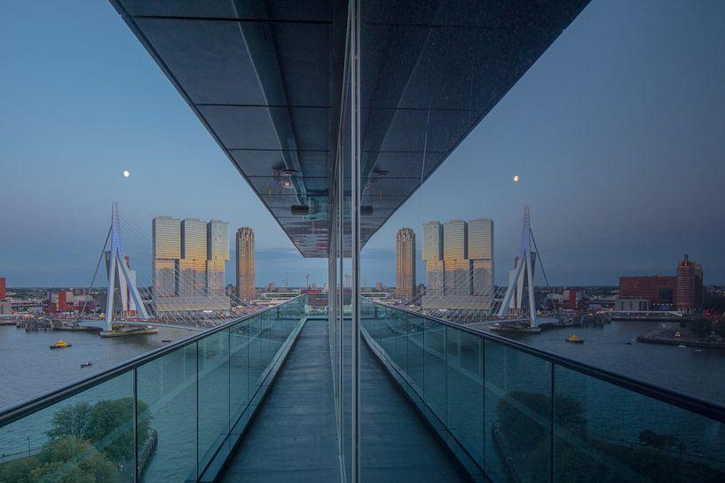 rotterdam reflectie van Michael van Dam
