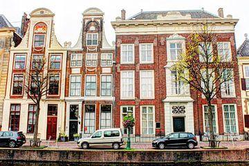 Rapenburg 27 - 31 Leiden Die Niederlande von Hendrik-Jan Kornelis