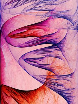 Composition abstraite 409 van Angel Estevez
