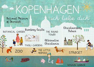 Kopenhagen – ich liebe dich van Green Nest