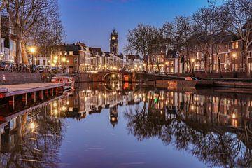 Domtoren en de Weerdsingel in Utrecht vanaf de Weerdsluis van Arthur Puls Photography