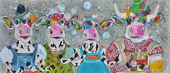 Oostenrijkse koe Jodelahiti