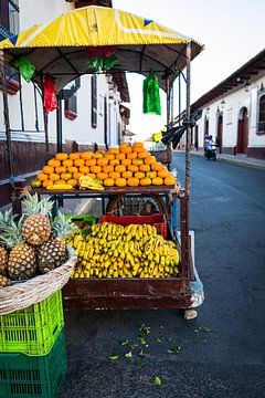 Boutique de fruits sur Sylvia Fransen