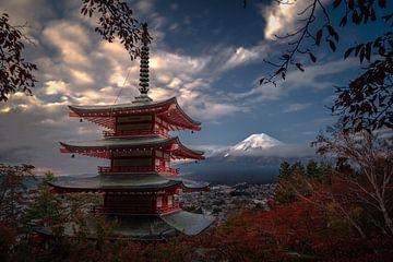 Berg Fuji Japan von Tim Kreike