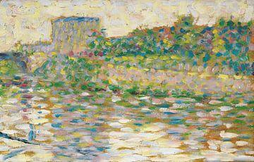 Georges Seurat Fluss Seine