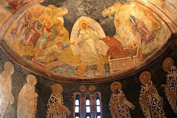 Fresco in de Chora kerk van Antwan Janssen