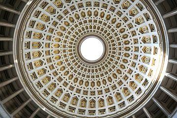 Kuppel der Befreiungshalle Kelheim von Folkert Jan Wijnstra