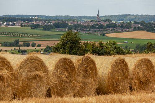 Strobalen in Zuid-Limburg van