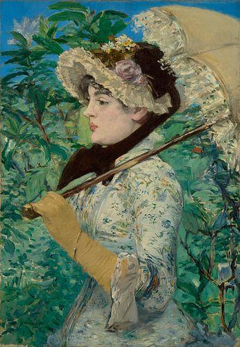 Jeanne (Spring) van Édouard Manet van Hollandse Meesters