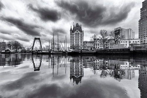 Dark clouds over the Oude Haven van