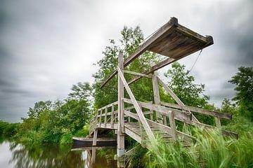 Pont dans le Weerribben-Wieden