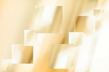 Abstracte vierkanten van FotoSynthese