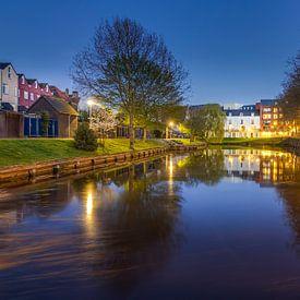 Spiegelung Oude Vissershaven - Bergen op Zoom von Stefan Fokkens