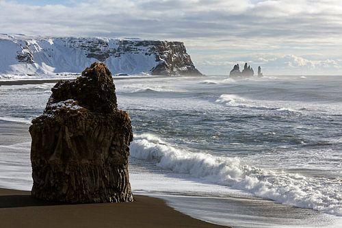 Dyrholaey Iceland van