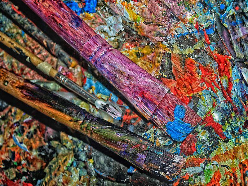 Painting van Harrie van der Meer