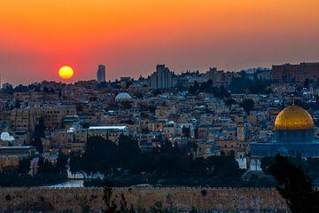 Jeruzalem shel zahav van Peter Relyveld