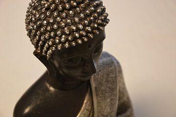 Boeddha buste van Dustin Musch