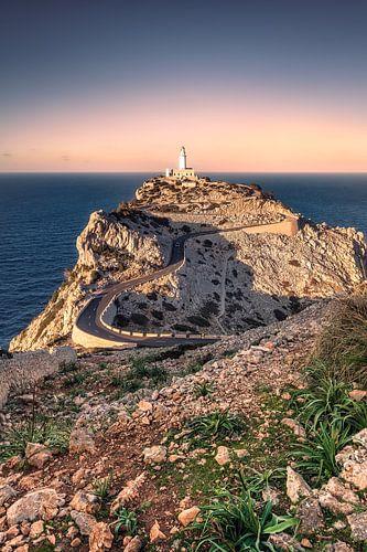 Lighthouse Cap de Formentor (Mallorca) van Dirk Wiemer