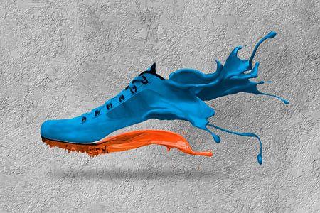 Schuh-Splash