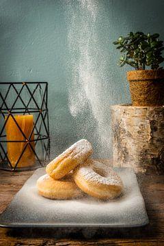 Poedersuiker Donuts van Boy van Mourik