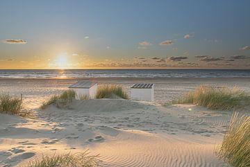 Perfect sunset van Jolanda de Leeuw