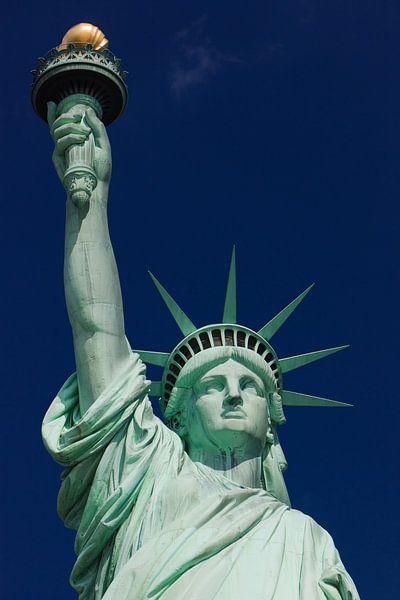 Vrijheidsbeeld, Manhattan, New York City van Henk Meijer Photography