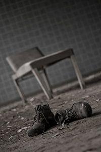 Schoenen voor behandeltafel