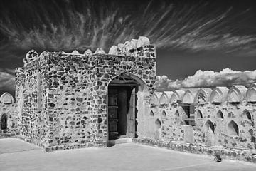 Zomerpaleis in Jabrin in Oman van Yvonne Smits