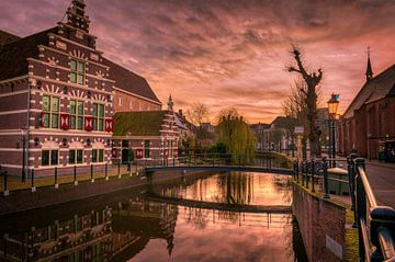 Amersfoort bij winterlicht van Robin Pics (verliefd op Utrecht)