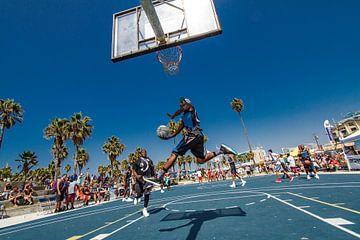 Basketball op Venice Beach, Los Angeles van Easycopters