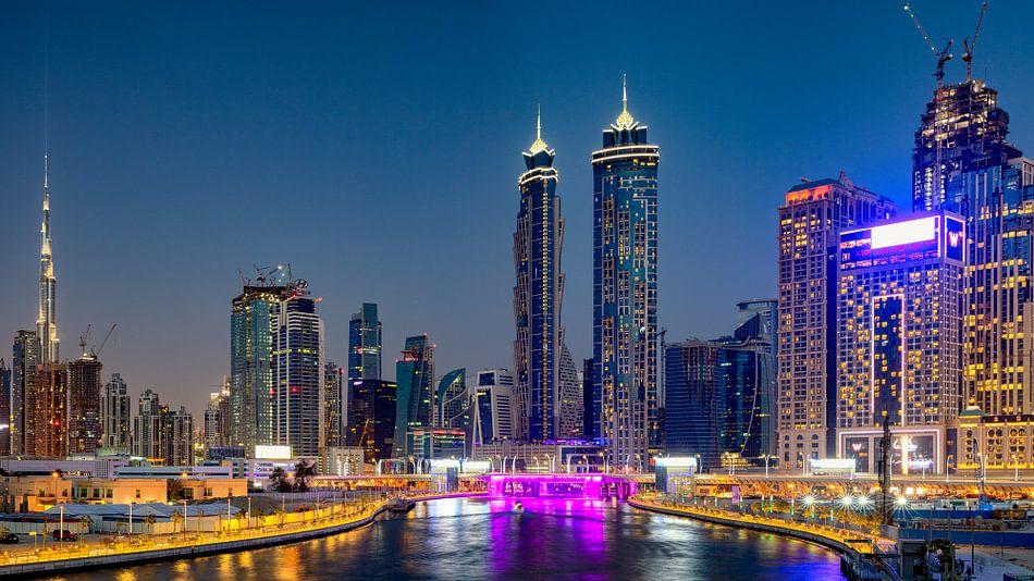Dubai Water Canal van Rene Siebring