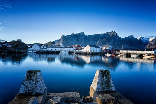De haven van Reine