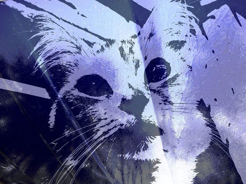Kattenkunst - Kelly 2 van MoArt (Maurice Heuts)