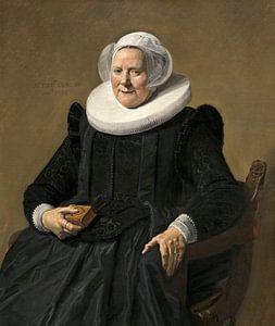 Portret van een oudere dame, Frans Hals