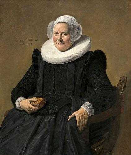 Portret van een oudere dame, Frans Hals van Liszt Collection