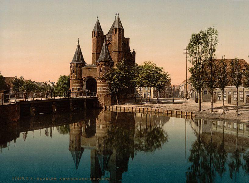 Amsterdamse Poort, Haarlem van Vintage Afbeeldingen