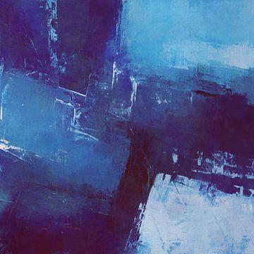Geometrisch in Blautönen von Angel Estevez