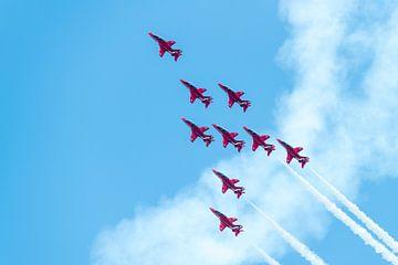Engelse demoteam Red Arrows van Wim Stolwerk
