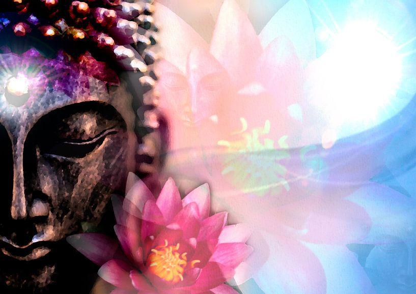 Lotus Boeddha van Kees-Jan Pieper