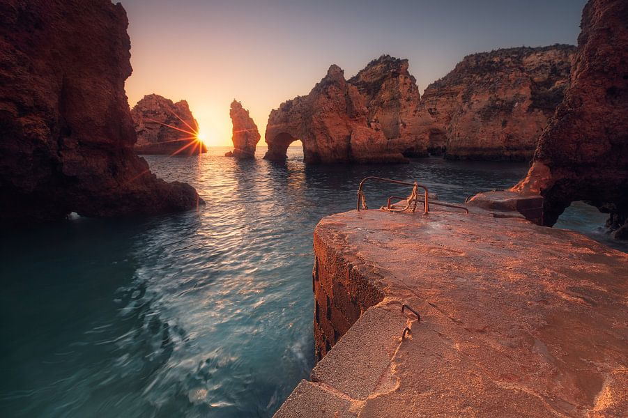 At Cape Bizar (Ponta da Piedade / Algarve / Portugal) van Dirk Wiemer