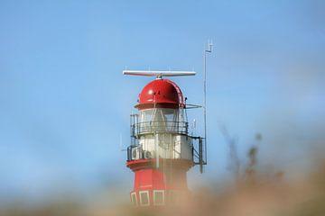 top vuurtoren Schiermonnikoog wadden lighthouse van Groothuizen Foto Art