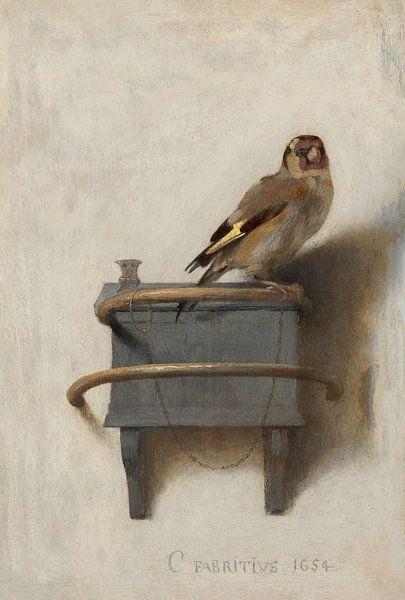 Der Distelfink von Carel Fabritius von Meesterlijcke Meesters