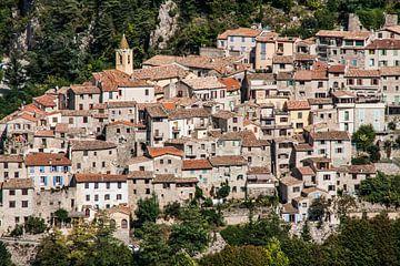 Sainte Agnes, dorpje aan de Côte d'Azur in Frankrijk sur Rosanne Langenberg